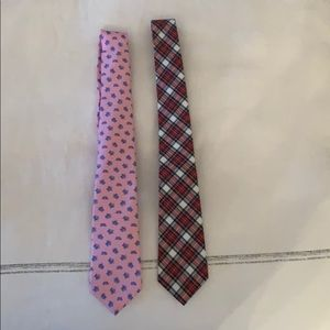 Boys ties- Brooks Brothers and Crew Cuts
